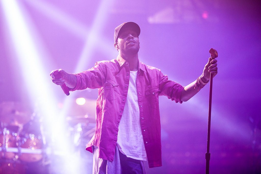 Kid Cudi at Northeastern Springfest 2013
