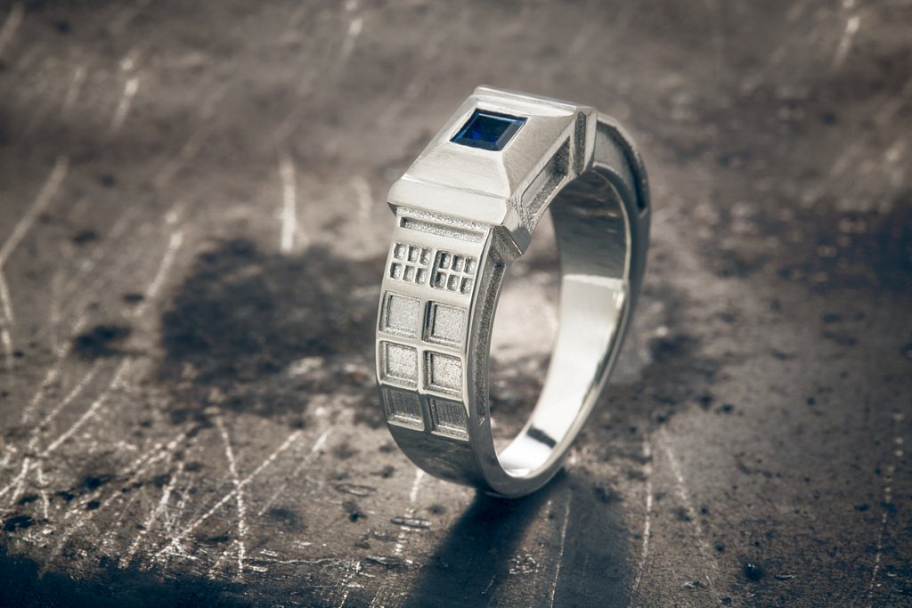 Doctor Who TARDIS Ring by Austin Moore