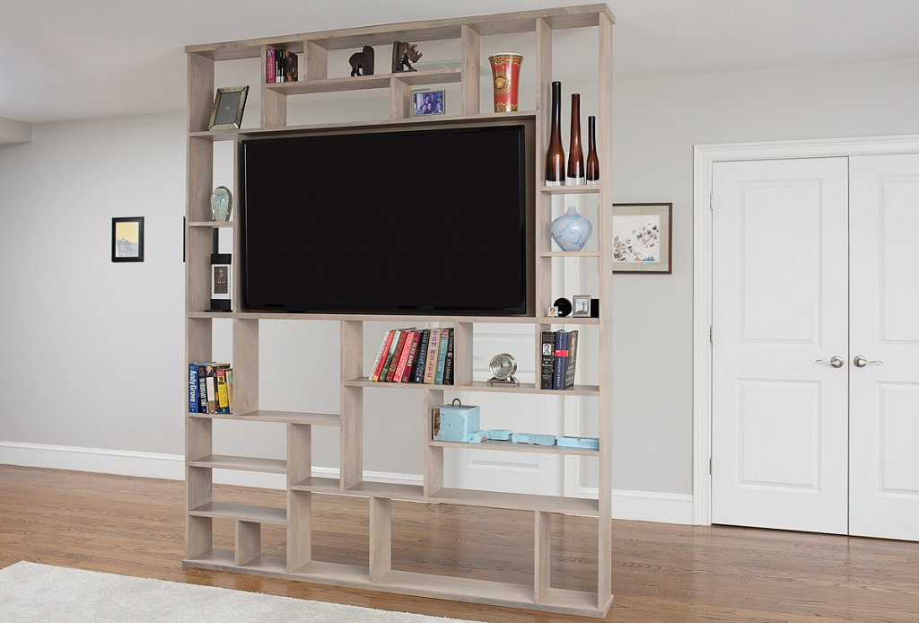 Open Bookshelf and Room Divider